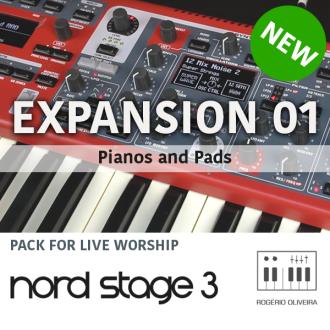 Rogerio Oliveira Keyboards – Samples for Nord Keyboards